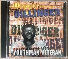 JAH WARRIOR Presents DILLINGER - Youthman Veteran - CD Album - ROOTS DUB REGGAE