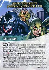 VENOM/DOC OCK/SCORPION Upper Deck Marvel Legendary NOIR SCHEME FIND SPLIT KILLER