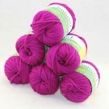 Sale New Chunky Warm Wool Velvet Wrap Shawl Hand Knitting Yarn  6Skeins x50gr 12
