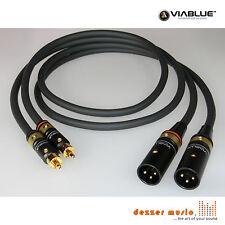 ViaBlue 2x 1m Adapterkabel NF-S1 T6s / XLR Cinch male / High End…mit Bestnote