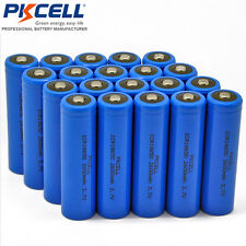 50 x Wholesale 18650 Battery With Tabs Button Top 2600mAh For LED Flash Lights