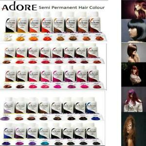 ADORE SEMI PERMANENT HAIR COLOUR / HAIR DYE ALCOHOL FREE 118ml-Free UK Delivery!