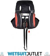 Kru Sport Pro 170N ADV Automatic Lifejacket With Harness Hood Light Carbon