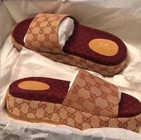 Gucci Platform Sandals Women 4.5-9.5