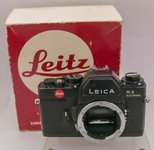 Leitz Leica R3 Electronic 35mm Film R Mount SLR Camera - Sticky Shutter AS-IS!