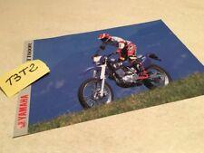 Yamaha TT600R moto TTR 600 prospectus brochure publicité prospekt pub TT 600 R