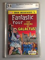 True Believers Fantastic Four Coming Of Galactus #1 - PGX9.8 - not cgc, cbcs