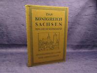 Schmaler Das Königreich Sachsen 1915 Lehr- und Übungsbuch Geografie sf