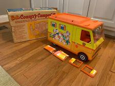 Mattel Barbie Vintage 1970 Country Camper In Original Box