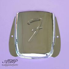 ASHTRAY BRIDGE COVER FENDER JAZZ BASSE F J-BASS CACHE CHROME 001-0678-000