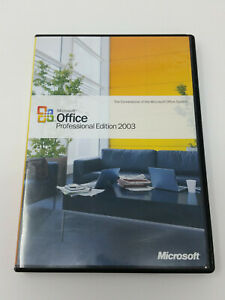 Microsoft Office Professional Edition 2003 Upgrade w/ Product Key for PC Windows