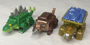 Dinotrux Drillasaur Wrecka Garby Lot Diecast Vehicle Dinosaur Figures Mattel
