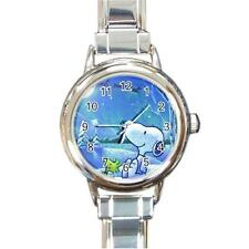 SNOOPY & WOODSTOCK WINTER SNOW CHRISTMAS CHARM WATCH CHRISTMAS GIFT - ADORABLE!