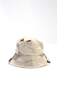Emilio Pucci Womens Printed Bucket Hat Beige Size 2