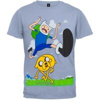 Adventure Time - Finn Kick Jump Youth T-Shirt