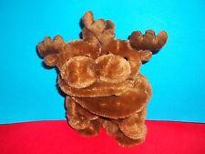 "Wishpets 8""  Two Moose Hugger  Plush Toy XOXO FROM Alaska 2011 GUC"