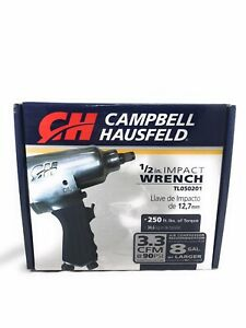 "Campbell Hausfeld Pneumatic 1/2"" Impact Wrench (TL0502)"