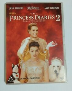 The Princess Diaries 2 (DVD, 2005) Region 4 Anne Hathaway Julie Andrews