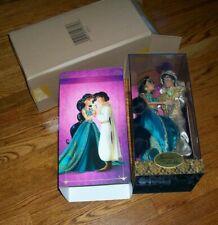 Jasmine and Aladdin Disney Fairytale Designer Collection Doll LIMITED EDITION