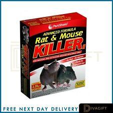 2 x Rodent Poison Blocks Bait Killer Strong Strength Rat & Mouse Control POISON