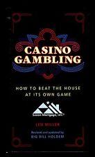 Len Miller & Big Bill Holdem, Casino Gambling, Black Dog & Leventhal, 1983