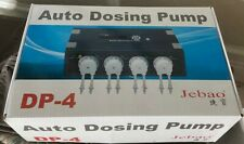 New listing Jebao 4 Channel Dosing Pump Dp-4 for Saltwater/Reef aquariums
