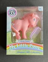 My Little Pony 35th Anniversary Cotton Candy Original 1983 Collection Doll NIB