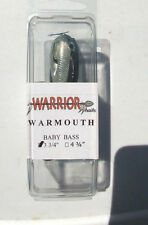 "Warrior Swimbait - Color = Babby Bass, 3 3/4"""