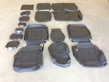 2013 2014 Ford F 150 Xlt Supercrew Black Leather Seat Factory Style Covers