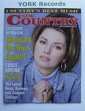 NEW COUNTRY MAGAZINE - December 1997 - Shania Twain / Trace Adkins