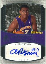 2005-06 SP SIGNATURE EDITION ROOKIE RC AUTO: ANDREW BYNUM