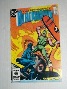 DC BLACKHAWK #270 (1984) 2nd Killer Shark, Mark Evanier, Dan Spiegle