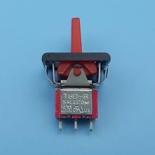 SH T80-R Red MOM-OFF-MOM Momentary 3Pin 3Position Mini Paddle Toggle Switch