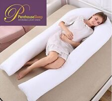 LUXURY U PILLOW Maternity Pregnancy EXTRA LONG Body Back Bump Support 30%off rrp
