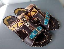 ELITE by CORKYS Footwear Womens Size 7 SAPELO Wedge Sandals Zip Buckle Slip On