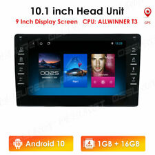 10.1 Inch 2 Din Android 10 Car Stereo Mp5 Player Gps Sat Navigation Wifi Usb Bt