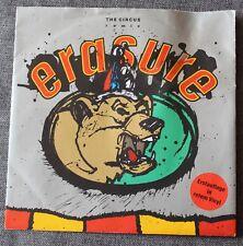 Erasure, the circus , SP - 45 tours import vinyl rouge