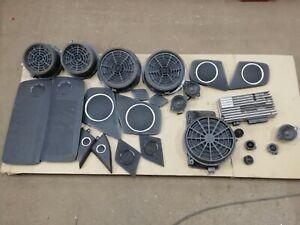 C1 Audi A4 B8 Sound System Set Kit Bang & Olufsen 8T0035223AR