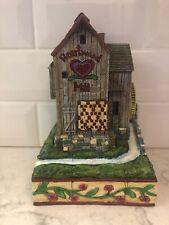 Jim Shore. Heartwood Creek. Village Mill. 2004. No Box. Please Read Description