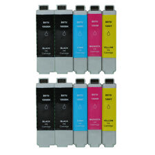 10 Tinte für BROTHER  DCP130C DCP350C DCP357C DCP540CN DCP560CN MFC-440CN LC1000