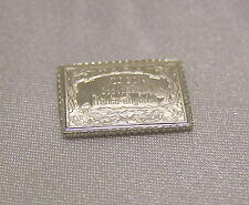 SOLID SILVER STAMP TOGO 1915 TWO-MARK HOHENZOLLERN YACHT