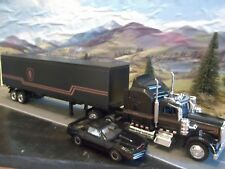 New-Ray Knight Rider Mobile Foundation Unit Kenworth W900 1/43 Custom