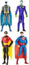 DC Comics Super Heroes 30cm Acción Batalla Batman Robin Superman Joker Chicos Juguete