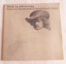 Etsen van Rembrandt in verschillende staten – 1981