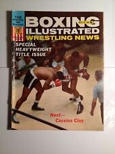 BOXING Illustrated Wrestling News Magazine October 1963 --- Next - Cassius Clay