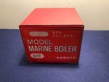 VINTAGE JAPAN MARINE SAITO MODEL STEAM BOILER  W/BOX  NOS B2E BOAT ...RARE