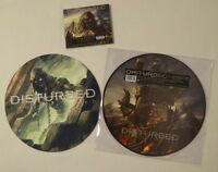 Disturbed ‎– The Vengeful One - Immortalized CD Bundle incl. CD & Slipmat