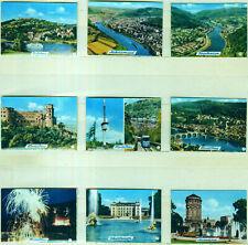 9er Streichholzetikettenserie 25a - mit Städtebilder (Heidelberg und Umgebung)