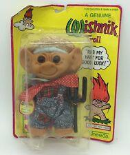 "Wishnik Uneeda 8"" Troll Doll Farmer with Pitchfork New Original Packaging"