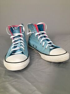 Converse All Star Chuck Taylor Unisex Sz 3 Teal High Top